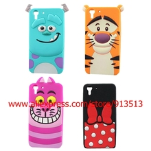 Hot Selling Sulley Tiger Cheshire Cat Minnie Mouse Silicone Soft Phone Back Case Cover For HTC Desire Eye