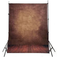 EDT-0.9m x 1.5m Wooden Floor Photography Backdrops Dreamlike Background For Studio Props Dark Brown