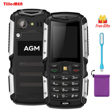 AGM M1 IP68 waterproof shockproof Dustproof mobile phone 2.0 inch 3G WCDMA Dual SIM 128MB+64MB 2.0MP 2570mAh Rugged cell Phone(China)