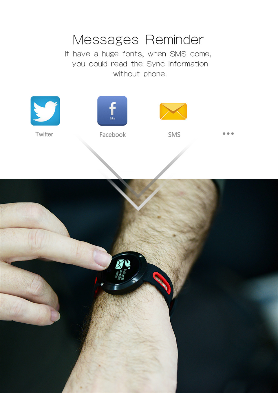 Teyo Heart Rate Monitor Smart Band Fitness Bracelet Blood Pressure Sleep Tracker Pedometer Bluetooth Wristband For Android IOS 12