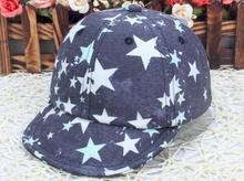 Fashion Infant Baseball Caps Baby Boy Sun Cap Star Retro Kids Hats Unisex Cotton Toddler Cap Cool Photo Props Baby Boy Clothing