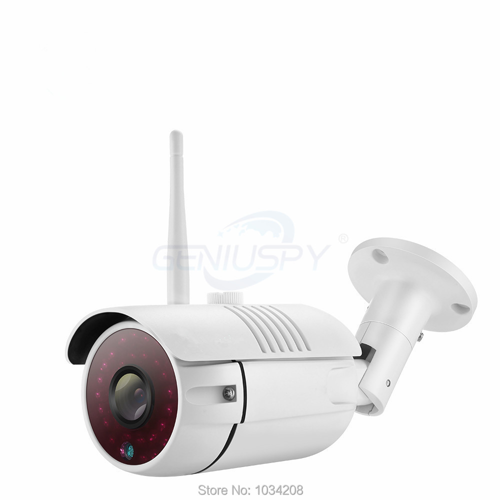 Waterproof IP66 Outdoor Bullet IP Camera WIFI SD Card 1MP 720P HD Wireless Survelliance CCTV IP Cam IR P2P Onvif iPhone Android<br>