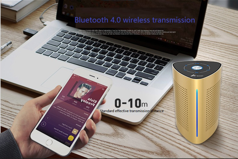 New ADIN V8 Vibration Speaker 36W Bluetooth Speakers Wireless Subwoofer NFC Stereo 3D Surround Touch Computer Phone Speaker (10)