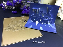 METAL CUTTING DIES 3D Thomas train locomotive railway Scrapbook card album paper craft party decoration embossing stencil cutter