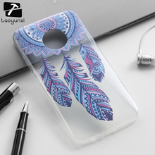 TAOYUNXI Cover Cases For Motorola Moto G5 Plus TPU Covers Cellphone XT1687 XT1684 XT1685 5.2 inch Soft Cases Phone Accessories(China)