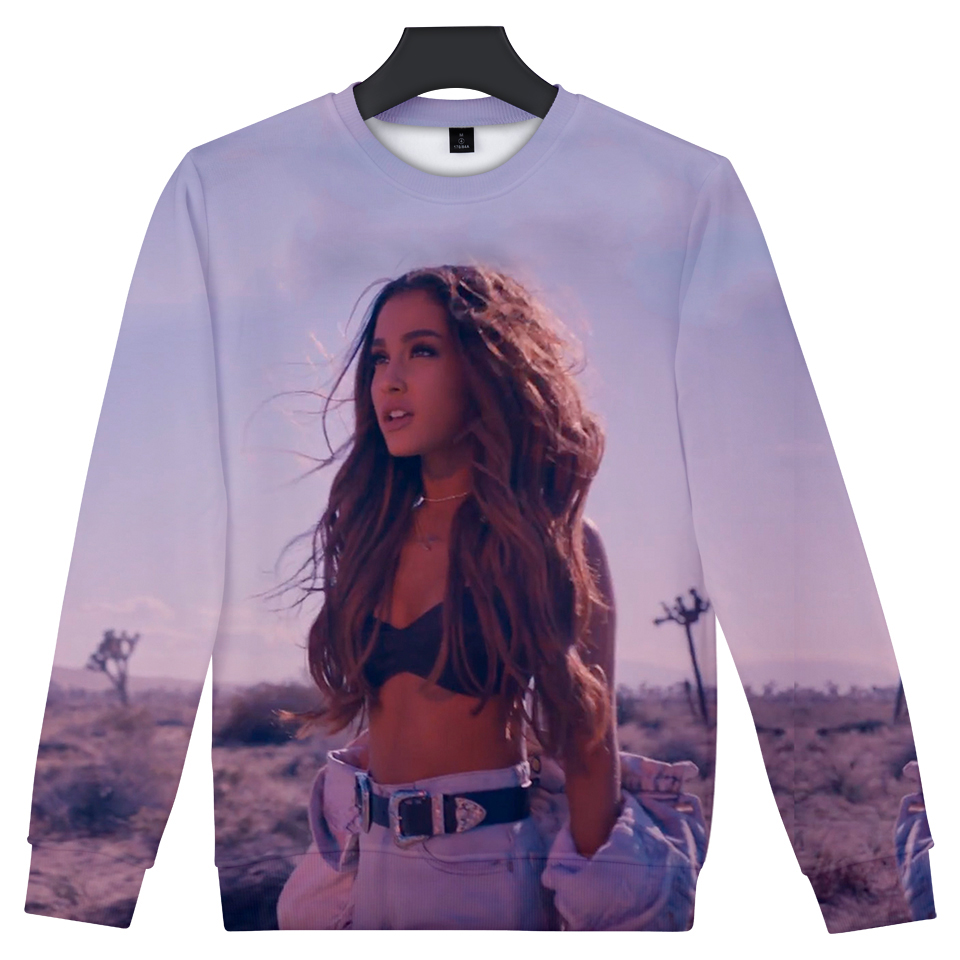 singer Ariana Grande 3D Print Casual T-Shirt Fashion WomenMens Short Sleeve Tops