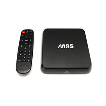 M8S Android 4.4 TV Box S812 Quad Core A9 2G / 8G DLNA Miracast Airplay H.265 4K * 2K Smart Media Player with Remote Controller(China)