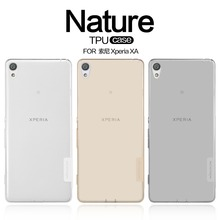 TPU Case For Sony Xperia XA For XA Ultra NILLKIN Nature Transparent Clear TPU Soft Back Cover Case For Sony Xperia XA / XA Ultra