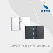 Saipwell SP214 zinc alloy hinges for doors swing display cabinet glass hinges adjustable gate hinges 10 Pcs in a Pack(China)