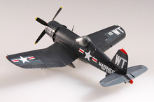 EASYMODEL scale model 37238 1/72 scale aircraft  F4U -4 VMF-232 U.S.M.C assembled model finished model do not need to assemble