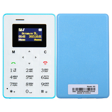 4.5mm Ultra Thin AIEK M5 AEKU M5 Card Mobile Phone Pocket Mini Phone Dual Band Low Radiation telephone card phones(China)