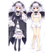 hot  japanese anime body pillow cover cases Suigintou Mercury Lampe  Double-Sided 2Way 2WT 50X160CM