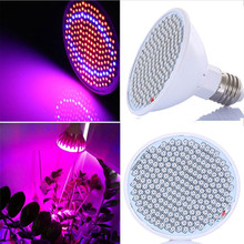 20W 166 Red 34 Blue LED Grow Light Bulb E27 Plant Lamp Garden Greenhouse Hydroponics Plant Seedling Growing Light AC85-260V(China)