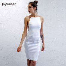 Summer Fashion Metal Sling dress 2016 Sleeveless Casual Elegant Dress Women Sexy Club Cocktail Party Bodycon Bandage Dress(China)
