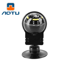 AOTU Professional Black Color Compass Ball Vehicle Navigation Car Compass Ball Camping Outdoor Survival Tool 246(China)