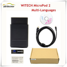 2017 Newest Car Styling wiTECH MicroPod 2 Diagnostic Tool For Chrysler Multi-Languages WI TECH Chrysler diagnostic interface