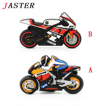 JASTER motorcycle pen drive gift pendrive 4gb 8gb 16gb 32gb 64gb motorcar cartoon usb flash drive pendrive motorbike
