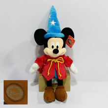 Free Shipping 1pcs 60cm 23.6'' Fantasia Magician Mickey Mouse Stuffed animals Plush Toys Doll for Children Birthday Gifts