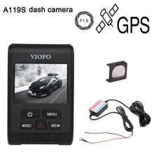"Original VIOFO A119S Upgraded V2 2.0"" Super Capacitor Novatek 96660 HD 1080p GPS Car Dashcam Camera DVR + CPL + hardwire cable"