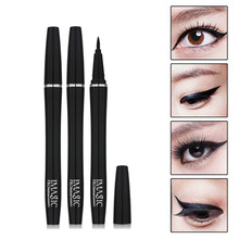 High quality cosmetics Black eyeliner waterproof Makeup tools accessories eyeliner to eye permanent Makeup Beauty(China)