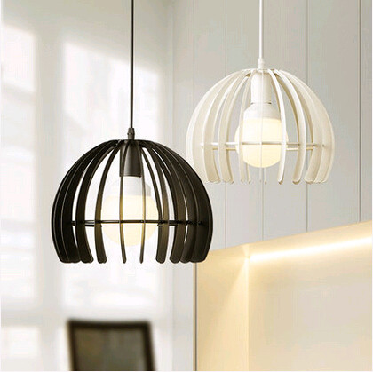 Northern Europe classic fence design pendant lights American rural warm iron fixtures for cafe stair bar pavilion corridor TM006<br>