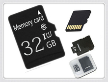 New Years promotion!  Memory card  Mini 128mb 2gb 4gb 8gb 16gb 32gb Real capacity USB Micro TF card + Adapter BT2