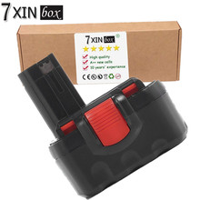 7XINbox 2000mAh 14.4V Ni-Cd Power Tool Battery For BOSCH GHO 14.4 V GLI GSB VE-2 VPE-2 GST GWS Jan-54 13614 13614-2G 15614(China)