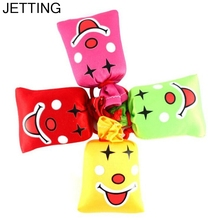 JETTING Ha Ha Laughing Bag Push Me I Will Laugh A Lot Gag Gift Prank Joke Novelty Toy Party Favor Halloween Christmas Decoration