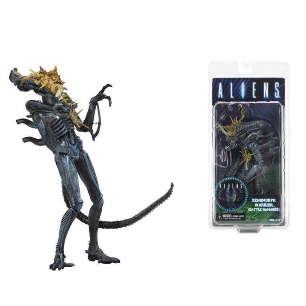 Neca Series 12 Aliens Xenomorph Warrior Battle Damaged Action Figure 9 Free Shipping<br>