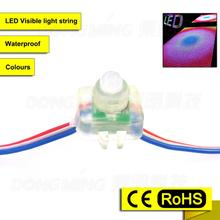Promotion RGB led module ws2801 12mm waterproof IP65 led pixel module rgb ad light letter DC 5V wholesale 200pcs