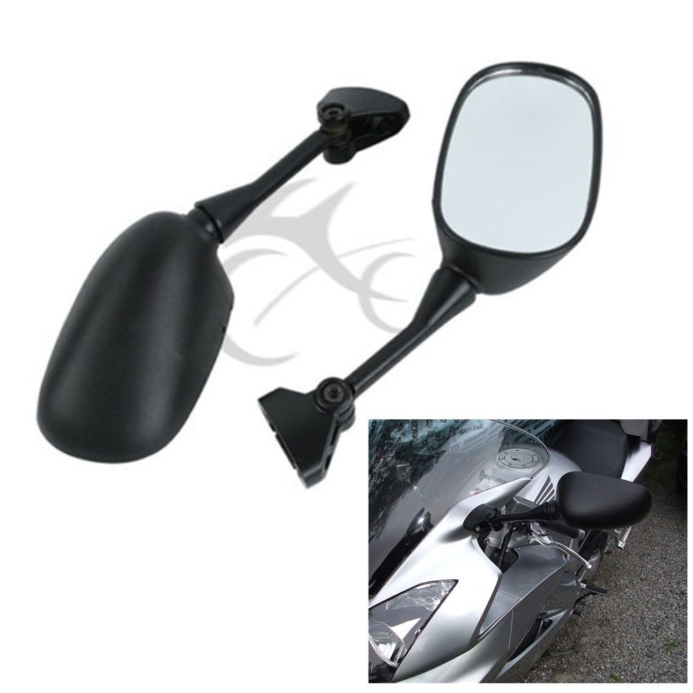 Rearview Side Mirrors For SUZUKI GSXR600 GSXR750 SV650 1000S 03-06 Motorcycle