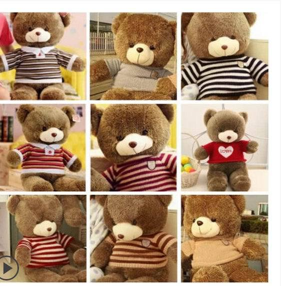 Free shipping (60cm 8 Colors)Super cute Teddy Bear Plush Toys Stuffed Toy Lowest Price Birthday gifts Christmas<br><br>Aliexpress