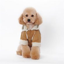 Winter Dog Clothes Coats Jackets Puppy Hoodies outfit for Dogs Pet Clothing Apparel dog costume S-XXL 39S2