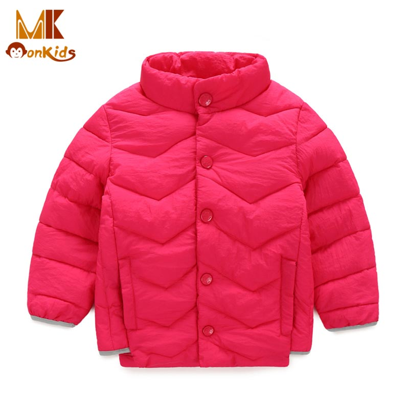 Monkids 2016 New Down Jacket for Girls Boys Winter Jacket Girls Parkas Winter Coat Warm Children Clothing Kids Clothes WarmОдежда и ак�е��уары<br><br><br>Aliexpress