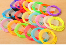 Fashion silicone gel bracelet neon color rubber bracelet 10 pcs/lot mixed color