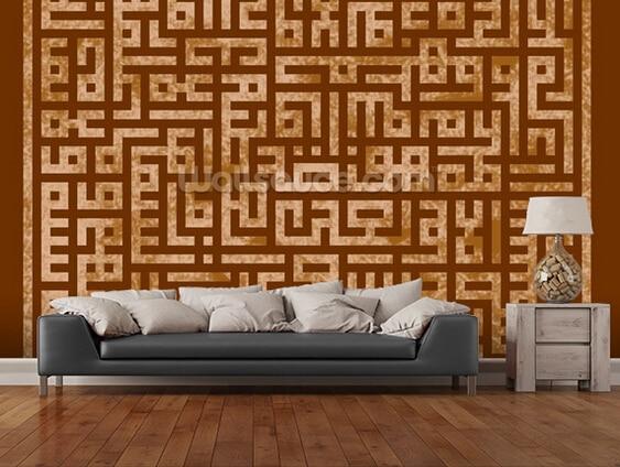 Custom retro wallpaper, Islamic art,3D wallpaper for the living room bedroom kitchen wall wallpaper wall waterproof wallpaper<br>