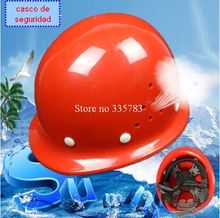 Safety Helmet Construction Head Protection Hard Hat Work Cap Industrial Engineering Work Wear Shockproof PE Insulation Material(China)