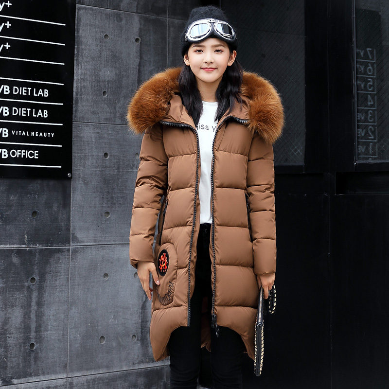 New Long Parkas Female Womens Winter Jacket Coat Thick Cotton Warm Jacket Womens Outwear Parkas Plus Size Fur Coat 2017 fashionÎäåæäà è àêñåññóàðû<br><br>
