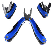 Large and Small Size 12 In 1 Stainless Steel Pocket Survival Multifunctional Plier Multitool for Outdoor Camping Tools(China)