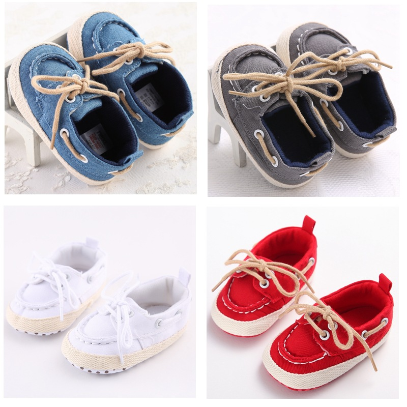 Baby Canvas Shoes Lace Shoes Slip Toddler Shoes Korean Version Of the Spring And Autumn Boys Pumps WMC234<br><br>Aliexpress