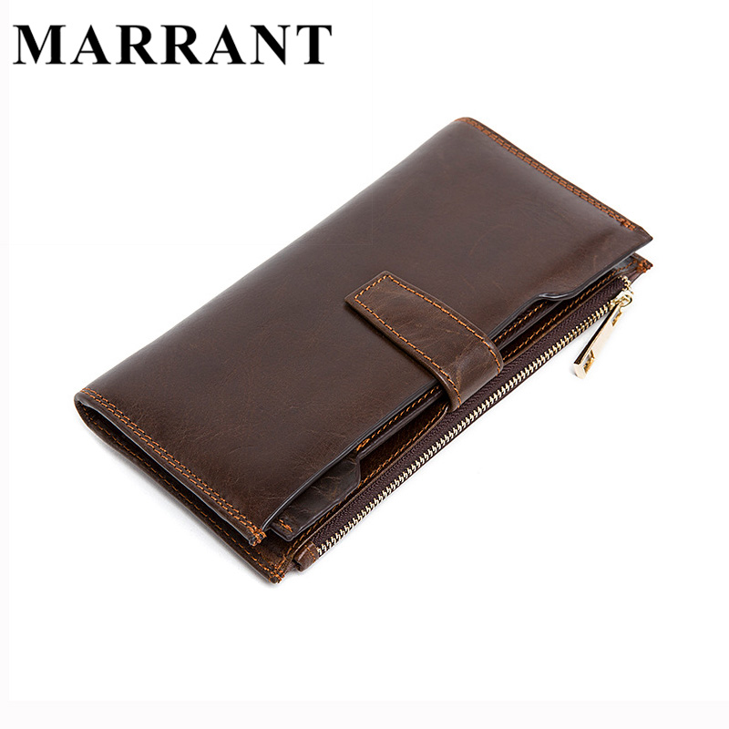 Hot Sale Casual Genuine Leather Men Wallet Design Man Hasp Zipper Wallets Purse Cowhide Leather Color Carteira Men Card Holder<br><br>Aliexpress