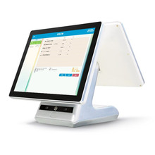 Nice white POS system 15 inch Touch Screen Billing Machine/All in One POS/ Restaurant Cash Register with