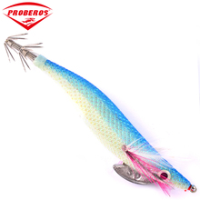 1pc Squid Jigs Proberos Brand Fishing Lure Exported to Usa Market Fishing Tackle 17 color 13.1g/11.5cm Fishing Bait 3.0# Hook(China)