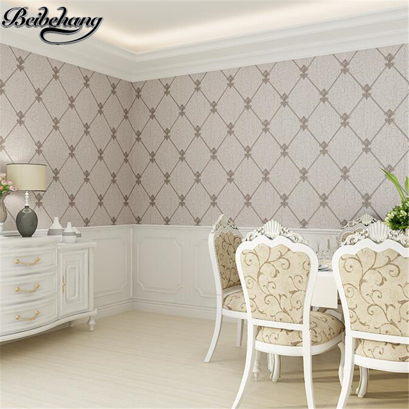 beibehang Modern Simple Living Room TV Background Wallpaper 3D Stereo Soft Pack Bedroom Wallpaper European papel de parede<br>