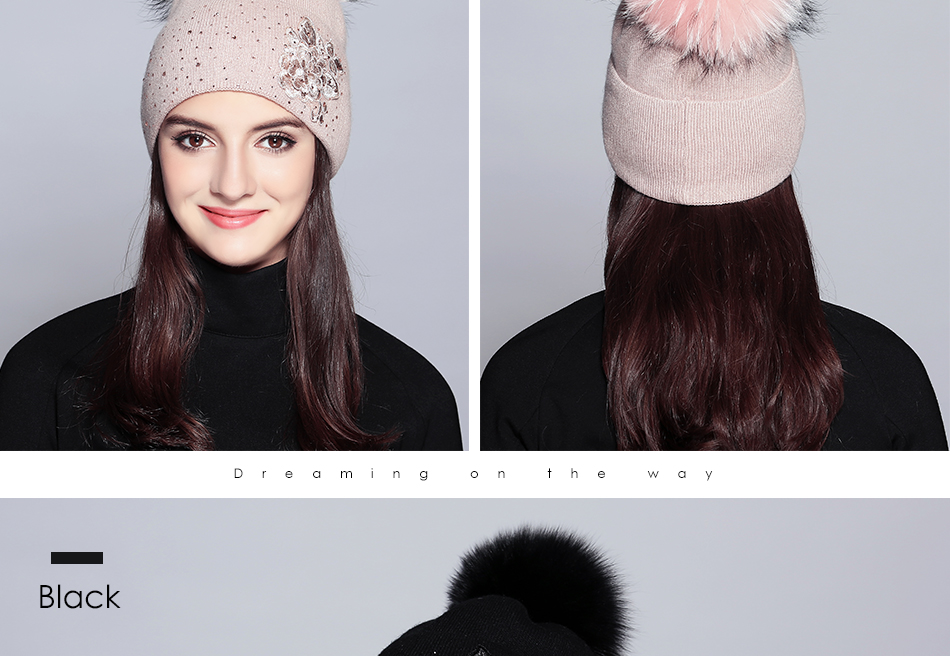 winter hats for women MZ713B (11)