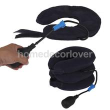 Air Inflatable Pillow Brace Cervical Neck Traction Support Pain Relief(China)