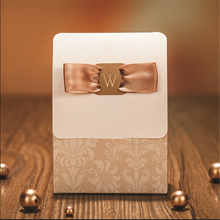Luxury Gold Wedding Event Party Supplies Decoration Paper Accessories Laser Cut Gift Sweet Candy Favors Gift Bag Box For Guest