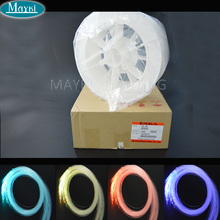 Maykit 700m/Roll 1.5mm PMMA Mitsubishi Brand End Lit Plastic Fiber Optic Cable Lighting DIY Starfield Wall Picture