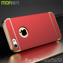 for iphone 5s case MOFi original for iPhone 5 hard cases 64gb 32gb cover for iphone se fundas 16gb coque for iPhone 5 case