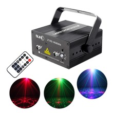 Hot mini RGB Full Color Stage Laser Light DJ Projector Blue LED Mixing Effect KTV Party Show Stage Lighting Z12G-RGB300